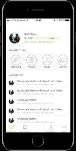 Billomat App