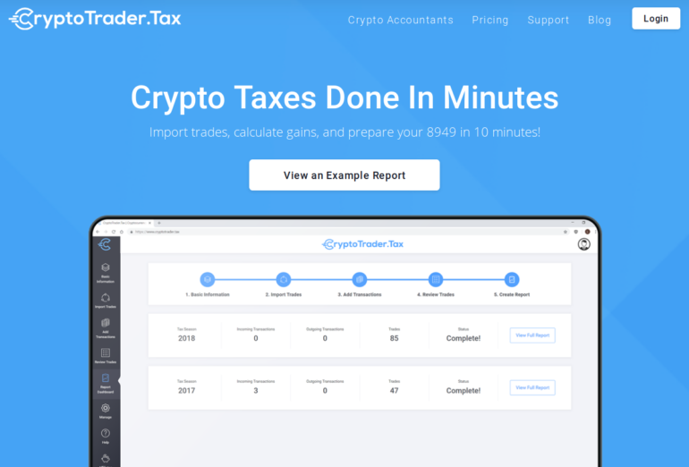 Cryptotrader.tax Test